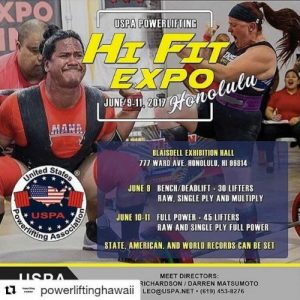 Hi Fit Expo Power Lifting