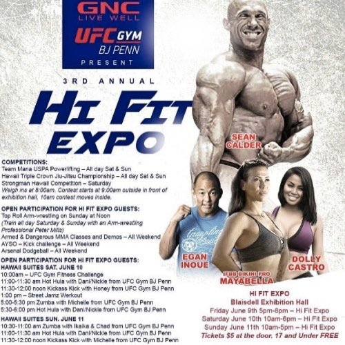 Hi fit expo 3rd Annual Competitions