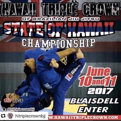 hawai's Brazilian Jiu Jitsu Championship 2017
